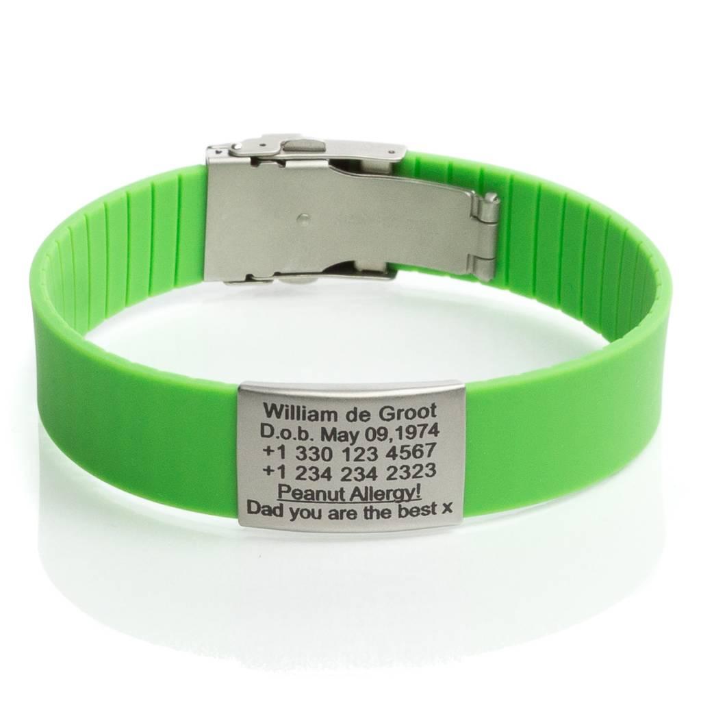 Image result for ID bracelet