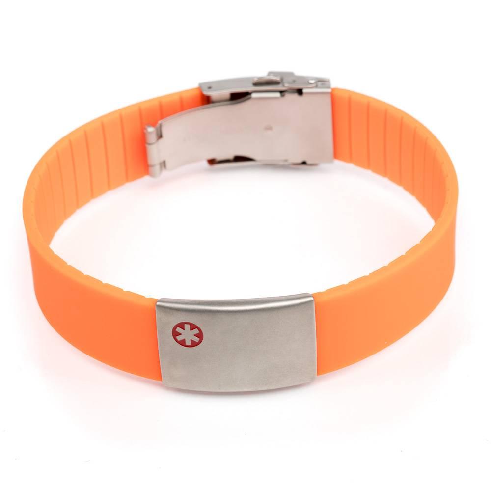 Medical Bracelet Orange