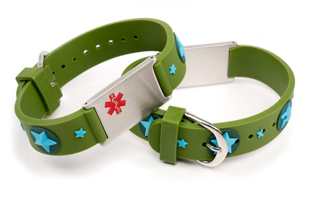 allergy alert id bracelet icetagsid