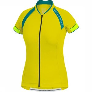 Gore Bikewear Men Cycling Shirt Yellow / Petrol