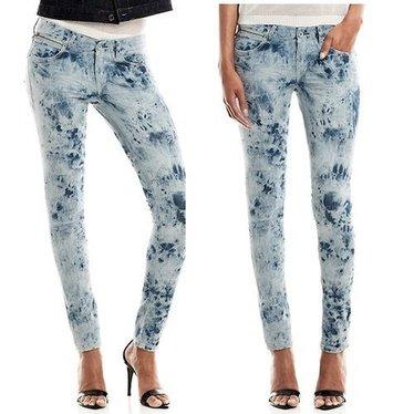 Gsus Tie dye denim jeans