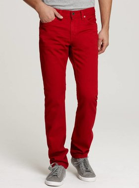 Denim Men's Jeans - red