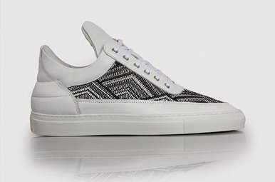 Low Top TSA Woven White