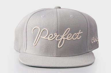 The Perfect Snapback Grey