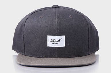 Pitchout 6-Panel Cap Dark Grey