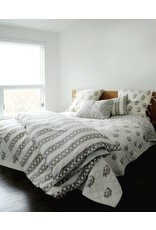 "Les Indiennes Les Indiennes Duvet  ""Nicole"" French Gray Full/  Queen"