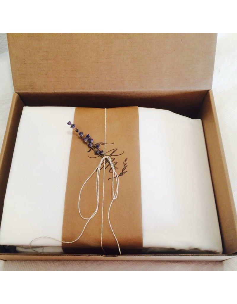 Ashley Meier Fine Linens Organic Luxe Stripe Duvet Cover