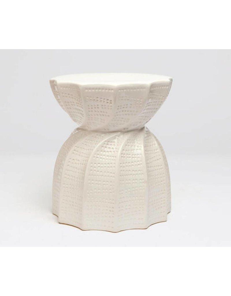BEA Twisted Ceramic Stool