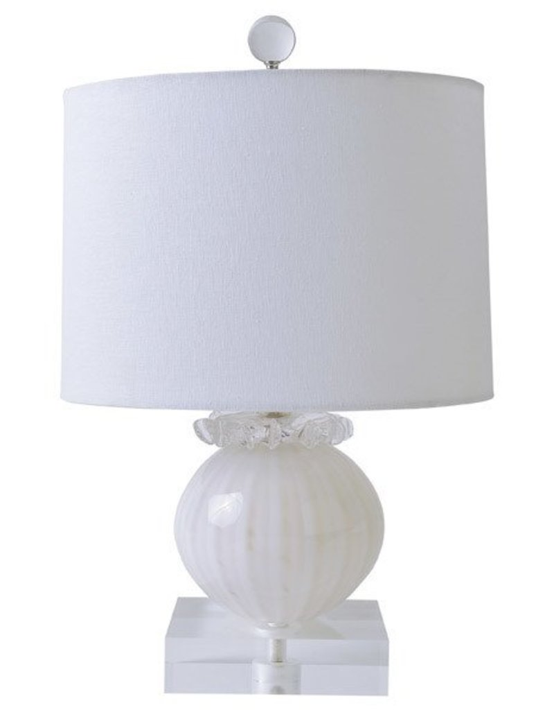 Gilded Nola Snowball Table Lamp