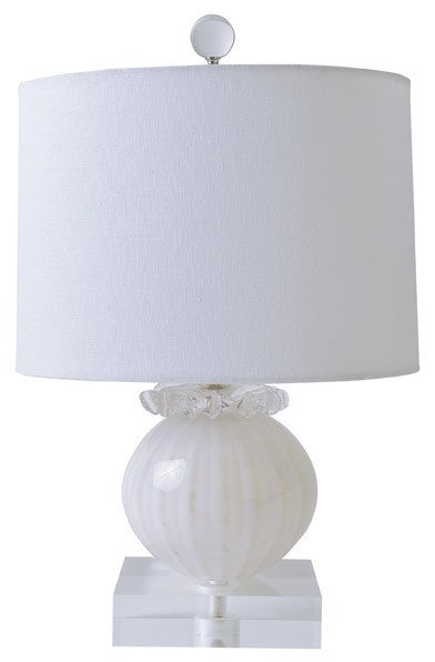 Gilded Nola Snowball Table Lamp