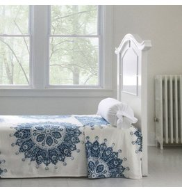 "Les Indiennes Les Indiennes ""Celestine"" Summer Bed Cover Indigo King"