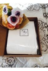 Ashley Meier Fine Linens Organic Luxe Stripe Sheet Set
