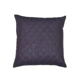 Tourmaline Argyle Pillow 24x24 Navy