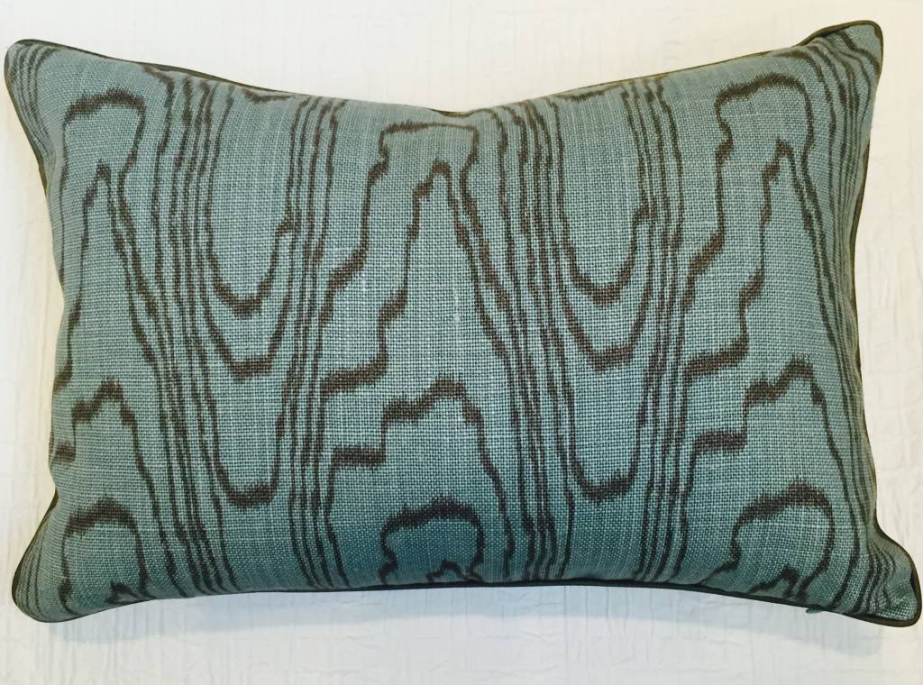 "Ryan Studio Agate Lake 14"" x 20"" pillow"
