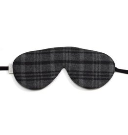 Elizabeth W EW Sleep Mask Wool Tartan