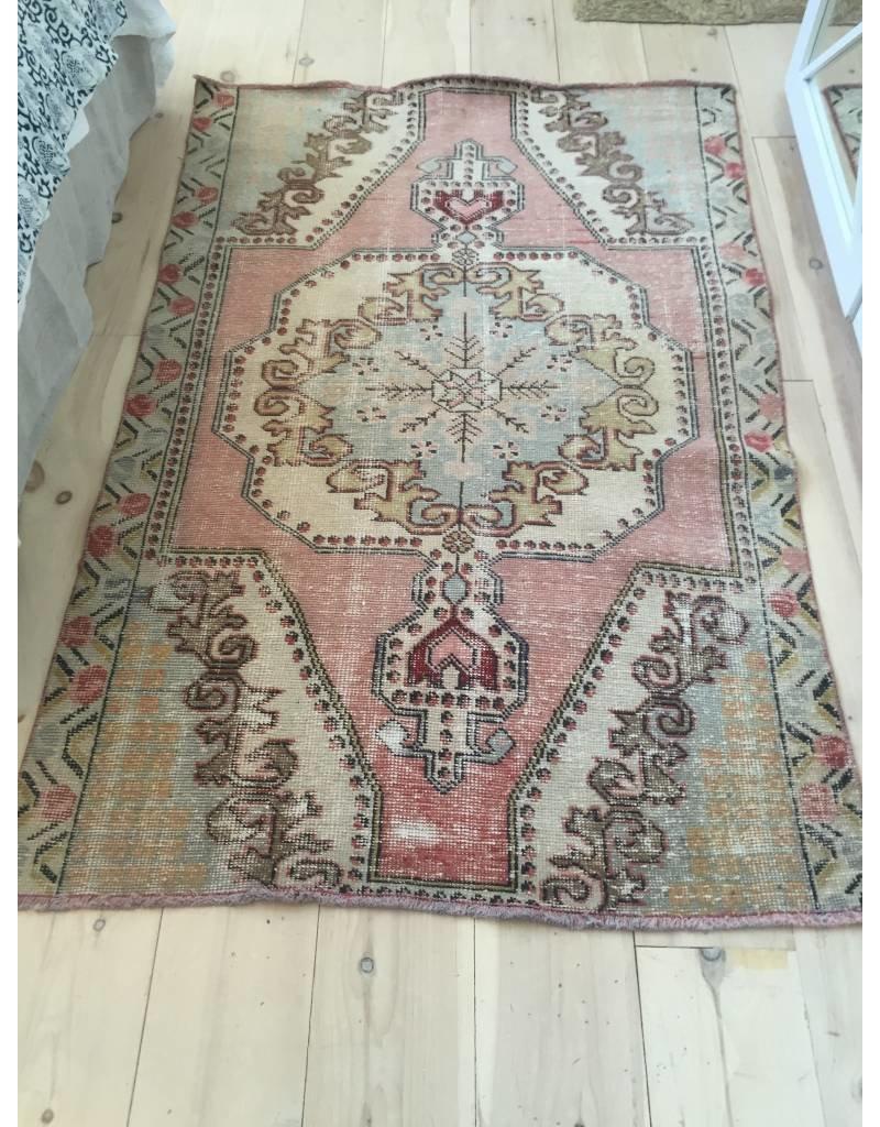 Oushak Rug 4.3 x 6.6 - Vintage #C149