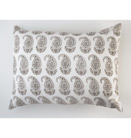 "Les Indiennes Les Indiennes ""Claudine"" Standard Sham French Gray"