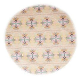 "Laura Park ""Carolina Days Pink"" Melamine Plate"