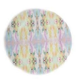 "Laura Park ""Lemonade Stand Light Blue"" Melamine Plate"