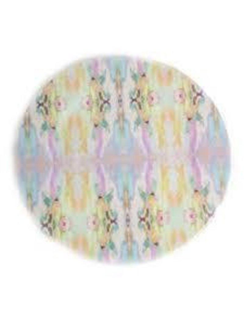 """Laura Park """"Lemonade Stand Light Blue"""" Melamine Plate"""