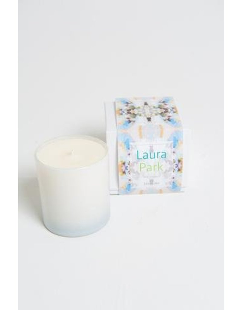 "Laura Park Jasmine Candle ""Sunday Best Navy"""