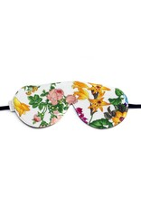 Elizabeth W EW Sleep Mask Floral Blush