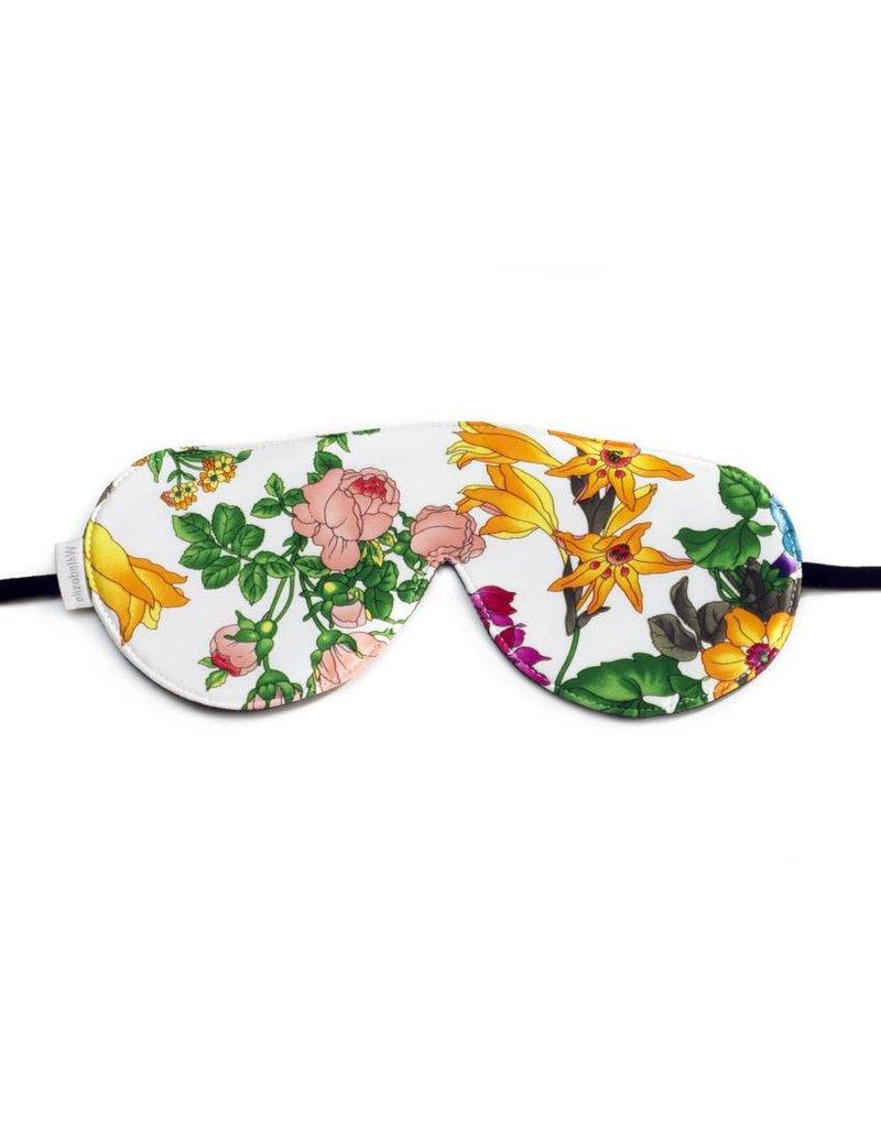 Elizabeth W EW Sleep Mask Floral Blush