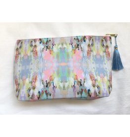 "Laura Park Large T-bottom ""Brooks Avenue"" Pouch"