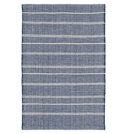 Dash & Albert Samson Navy Indoor/Outdoor Rug 3x5