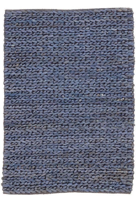 Dash & Albert Jute Woven Blue Rug 3x5