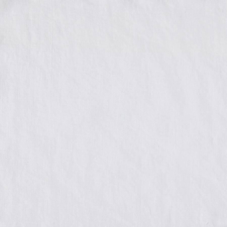 Matteo Vintage Linen flat sheet White Queen