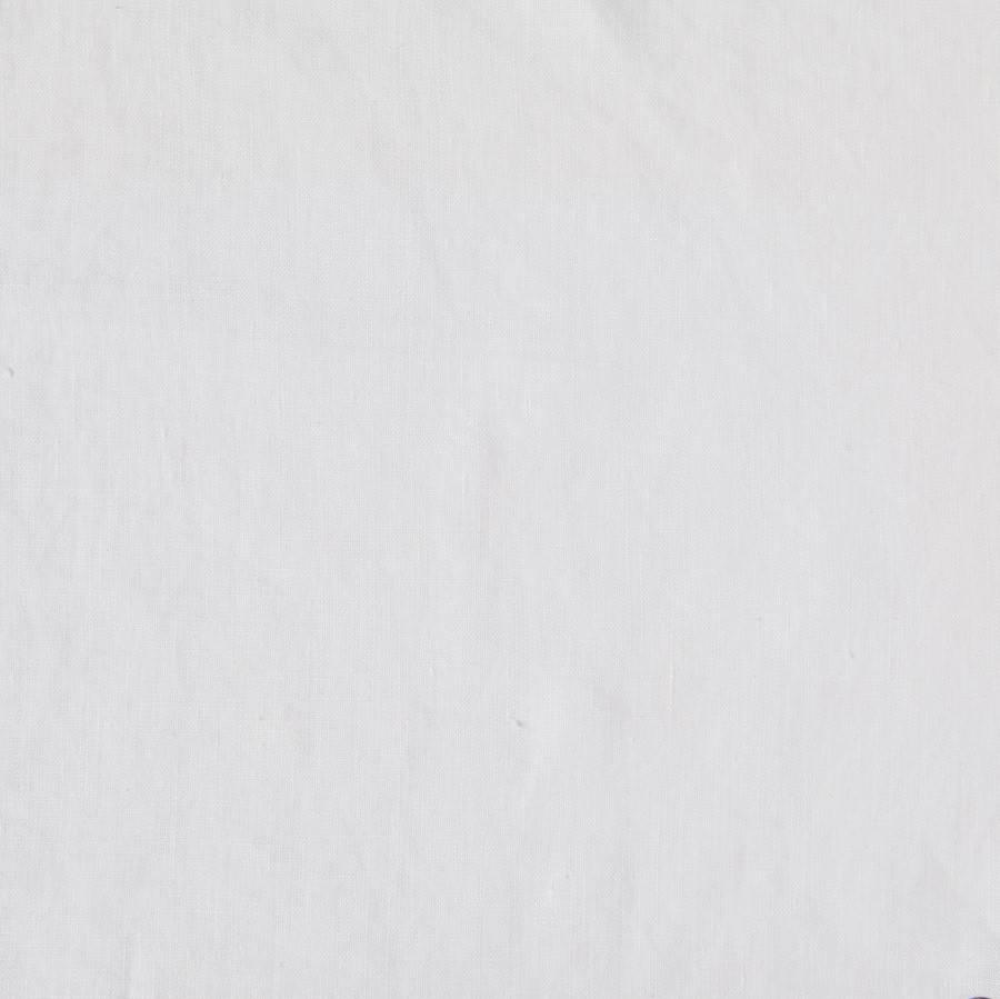 Matteo Vintage Linen flat sheet Off White Queen