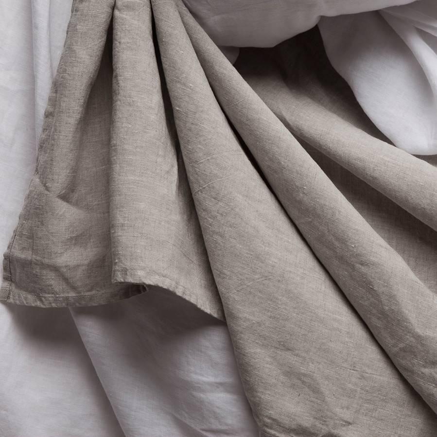 Matteo Vintage Linen flat sheet Loomstate Queen