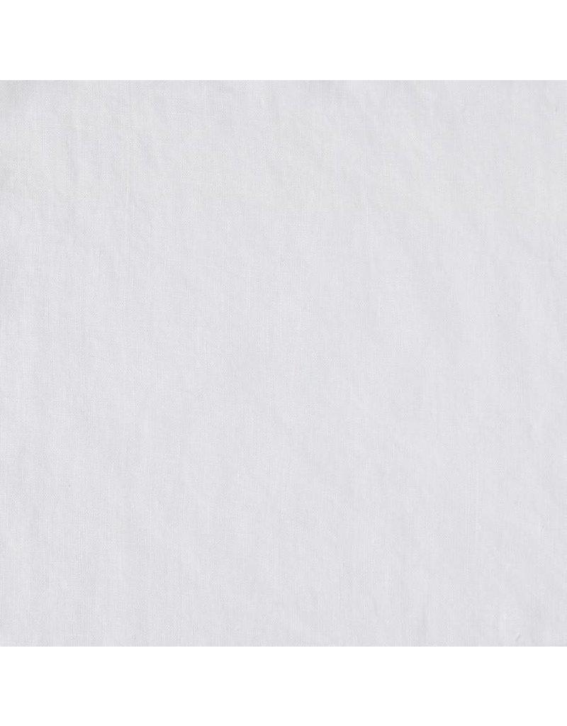Matteo Vintage Linen fitted sheet White Queen