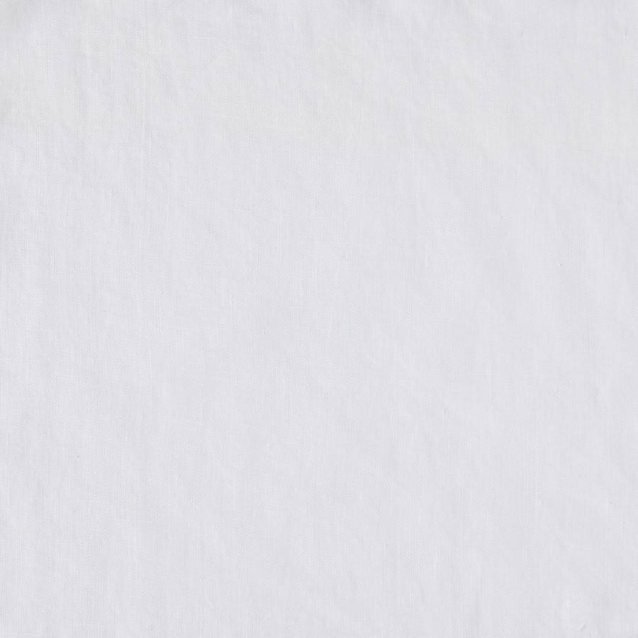 Matteo Vintage Linen King Sham - White