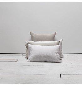 Matteo Vintage Linen Off White Euro Sham
