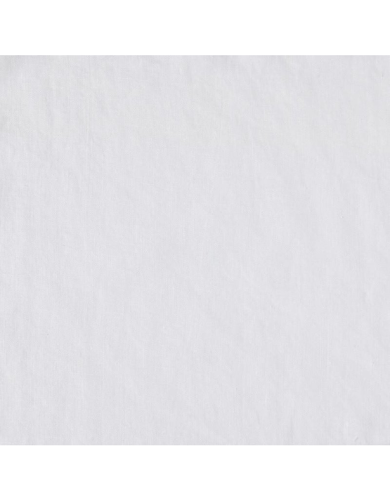 Matteo Vintage Linen Fitted Sheet, White - King