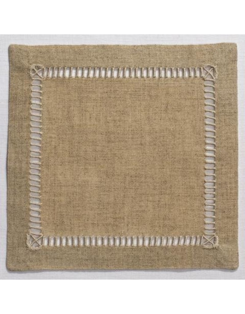 Pure Linen Natural Cocktail set of 4