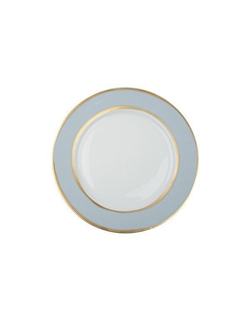 "Canvas Home La Vienne Dinner Plate 10.6""D Blue"