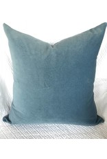 AM Denim Blue Velvet Pillow