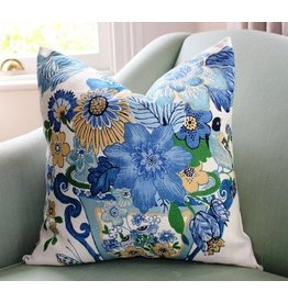 Schumacher Lansdale Bouquet Pillow