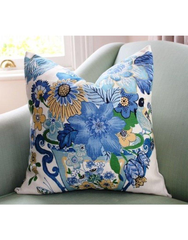 Schumacher Lansdale Bouquet Pillow