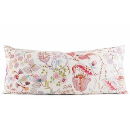 "Pine Cone Hill Mirabelle rmbroidered decorative pillow 15"" x 35"""