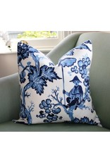 Etsy Toile Pillow - Available in Red or Blue