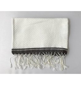 Scents and Feel Guest towel, White/Brown