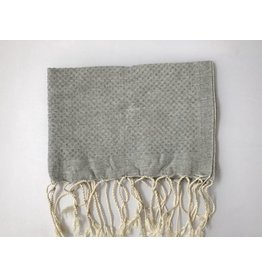 Scents and Feel Guest towel, Grey