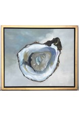"""Blue Pacific Oyster (2)"" art"