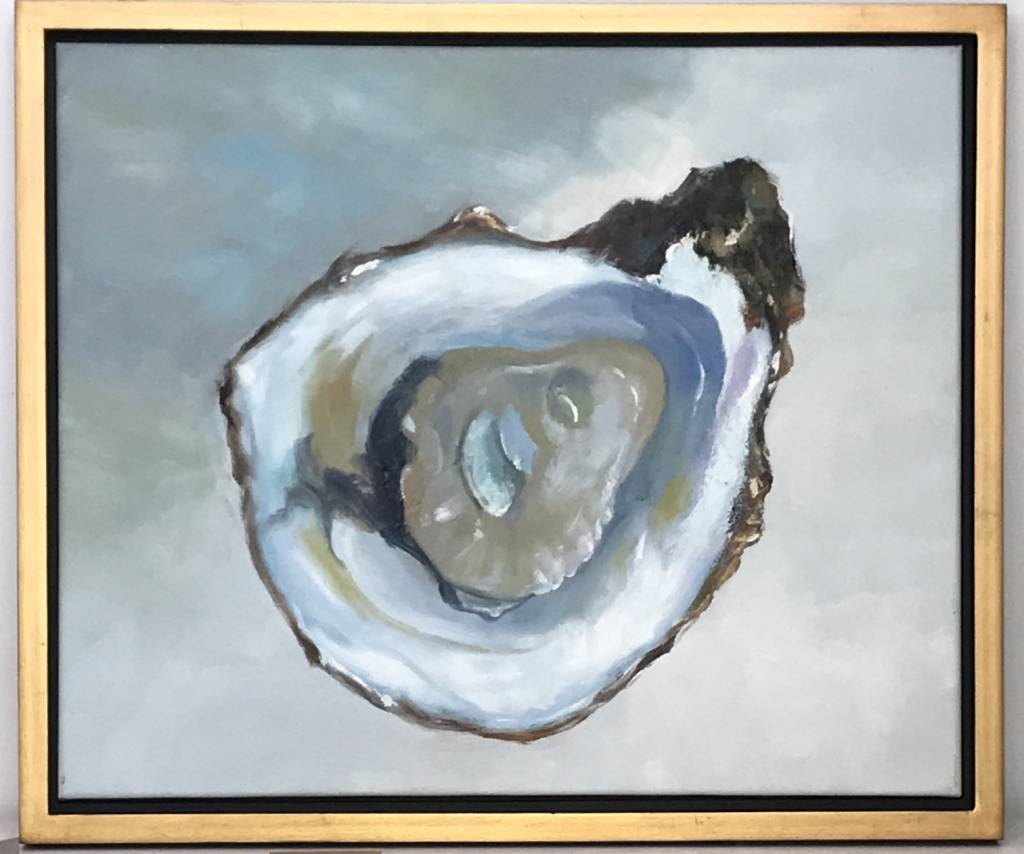 """""""Blue Pacific Oyster (2)"""" art"""