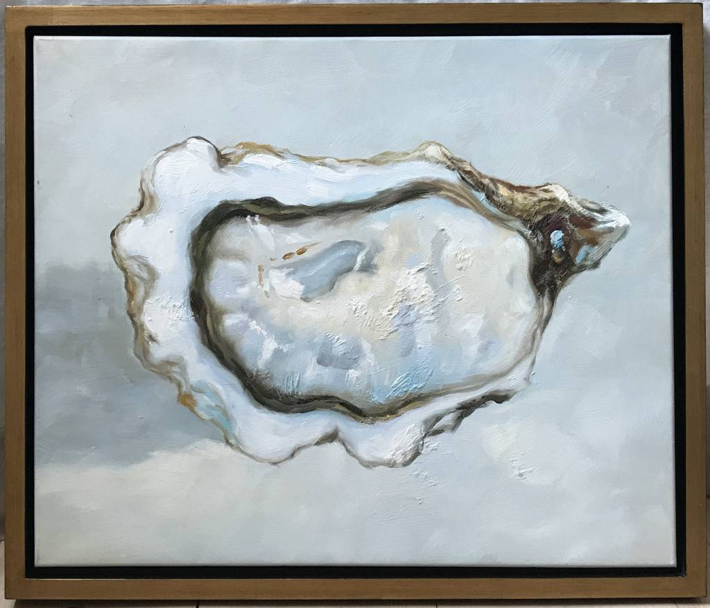 """Blue Pacific Oyster (1)"" art"
