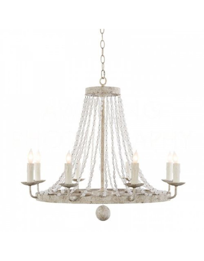"Aiden Gray Naples Chandelier, 25"" h x 30"" d x 30"" w"